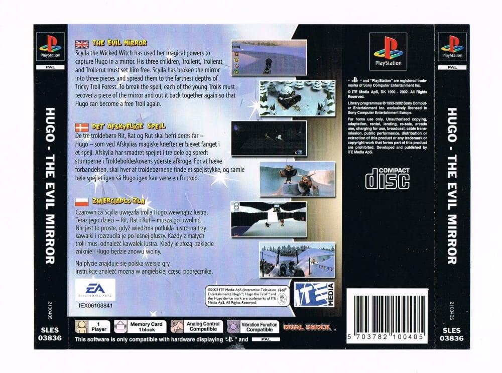 hugo the evil mirror pl 4 - Rodzima dystrybucja - gry po polsku na PSX