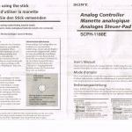 ps instrukcja dual analog 150x150 - [SCPH-1180] Analog Controller / Dual Analog