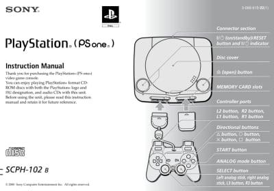 Instrukcja do PSone SCPH-102B