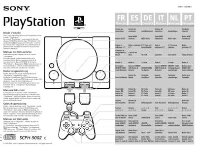 instrukcja psx scph9002c1 - Instrukcje - PlayStation PAL (Europa)