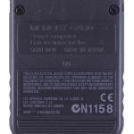 SCPH 1020B back black 150x150 - [SCPH-1020] Memory Card / Karta pamięci