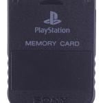 SCPH 1020B front black 150x150 - [SCPH-1020] Memory Card / Karta pamięci