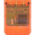 SCPH 1020D back candy orange 150x150 - [SCPH-1020] Memory Card / Karta pamięci