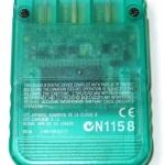 SCPH 1020GI back emerald 150x150 - [SCPH-1020] Memory Card / Karta pamięci