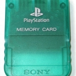 SCPH 1020GI front emerald 150x150 - [SCPH-1020] Memory Card / Karta pamięci