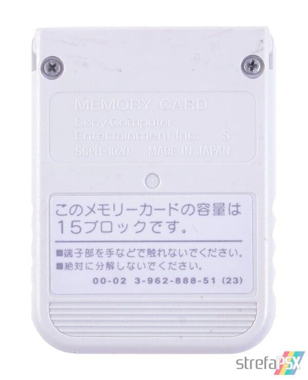 SCPH 1020HI light grey - Jak odróżnić oryginalną kartę pamięci od podróbki?