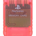 SCPH 1020RI front cherry red 150x150 - [SCPH-1020] Memory Card / Karta pamięci