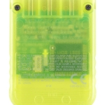 SCPH 1020YI back lemon yellow 150x150 - [SCPH-1020] Memory Card / Karta pamięci