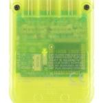 SCPH 1020YI back lemon yellow 150x150 - [SCPH-1020] Memory Card / Karta pamięci