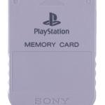 SCPH 1020 front grey 150x150 - [SCPH-1020] Memory Card / Karta pamięci