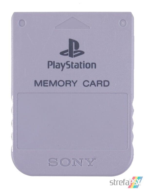 SCPH 1020 front grey - [SCPH-1020] Memory Card / Karta pamięci