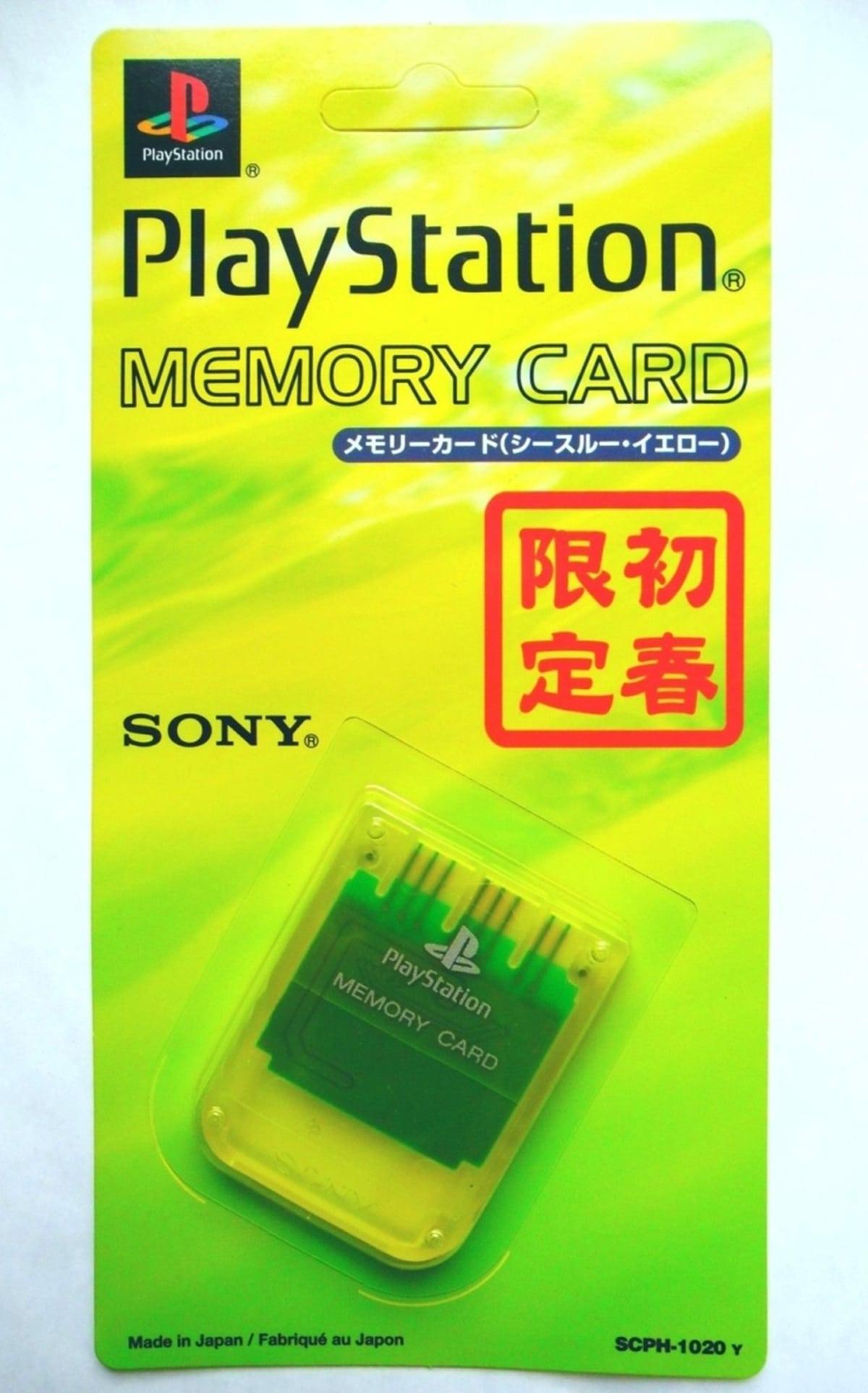 memory card scph 1020y 021 - [SCPH-1020] Memory Card / Karta pamięci