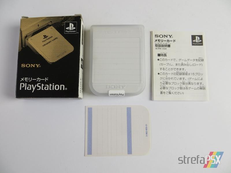 memory card scph 1200 12 - [SCPH-1020] Memory Card / Karta pamięci