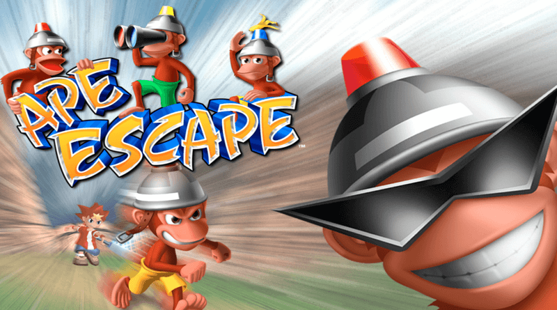 ape escape dual shock baner - Co łączy Ape Escape i kontroler Dual Shock?