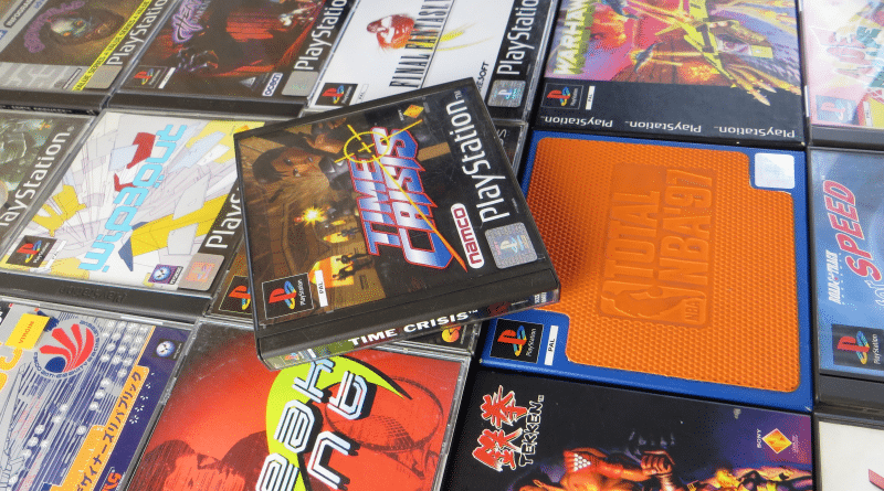 rozne pudelka gier psx pal baner - Standardowe opakowania gier w regionie PAL
