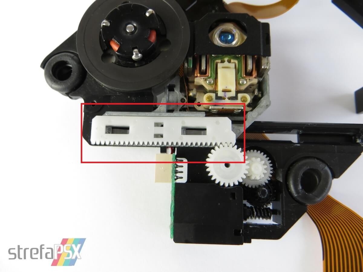 jak wymienic mechanizm lasera 06 - Jak wymienić mechanizm lasera?