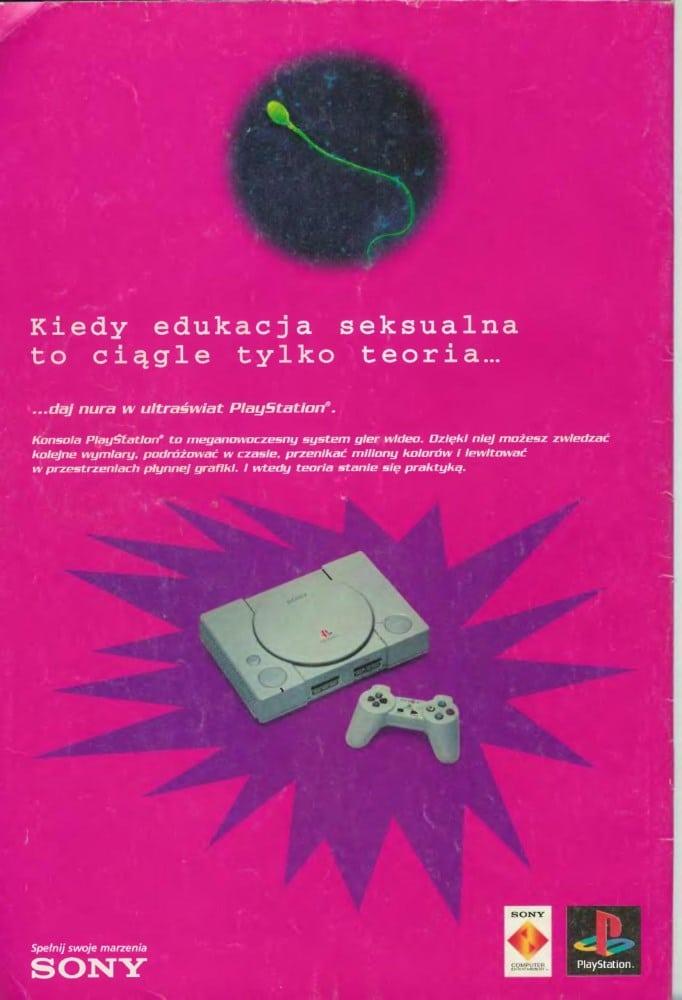 reklamy 15 - Archiwalne reklamy PlayStation w polskiej prasie