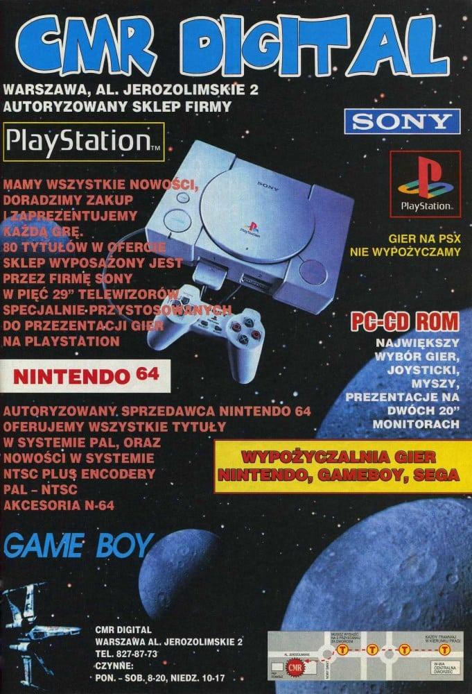 reklamy 2 - Archiwalne reklamy PlayStation w polskiej prasie