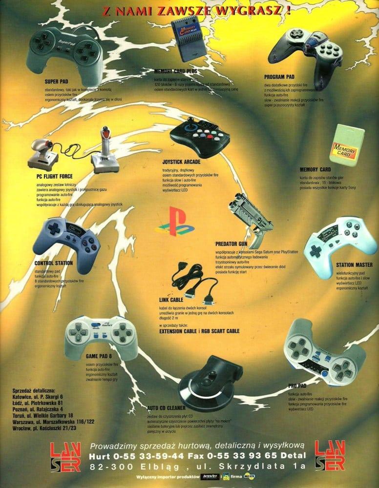 reklamy 4 - Archiwalne reklamy PlayStation w polskiej prasie