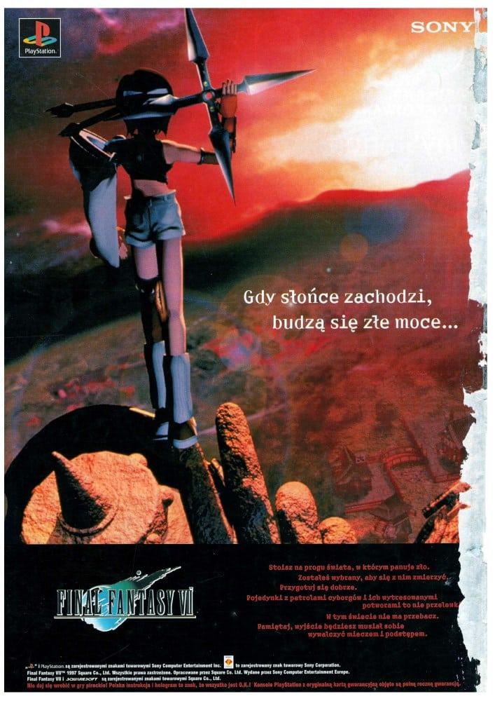 reklamy 9 - Archiwalne reklamy PlayStation w polskiej prasie