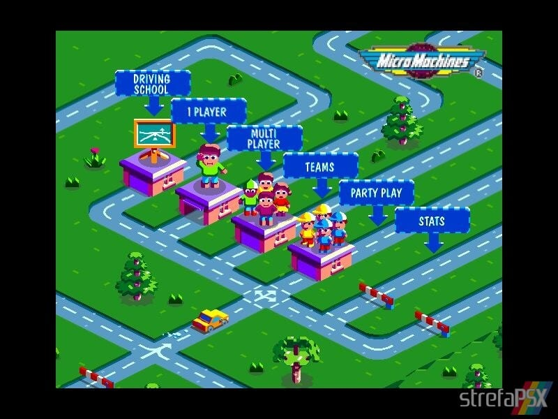 micro machines v3 multiplayer 01 - Multiplayerowy szał w Micro Machines V3