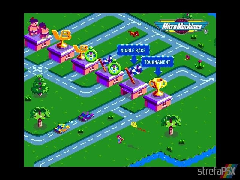 micro machines v3 multiplayer 06 1 - Multiplayerowy szał w Micro Machines V3