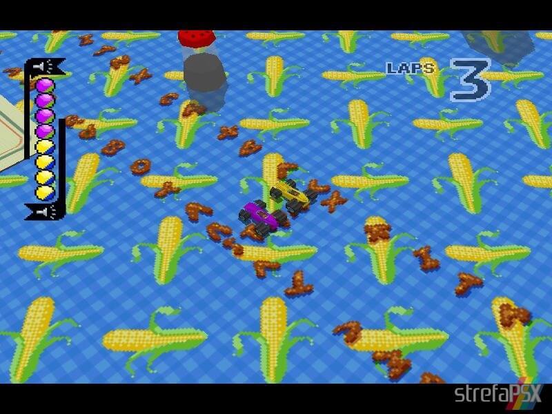 micro machines v3 multiplayer 09 - Multiplayerowy szał w Micro Machines V3