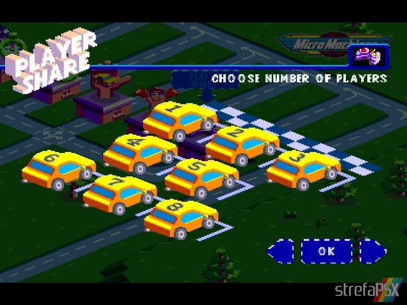 micro machines v3 multiplayer 11 - Multiplayerowy szał w Micro Machines V3