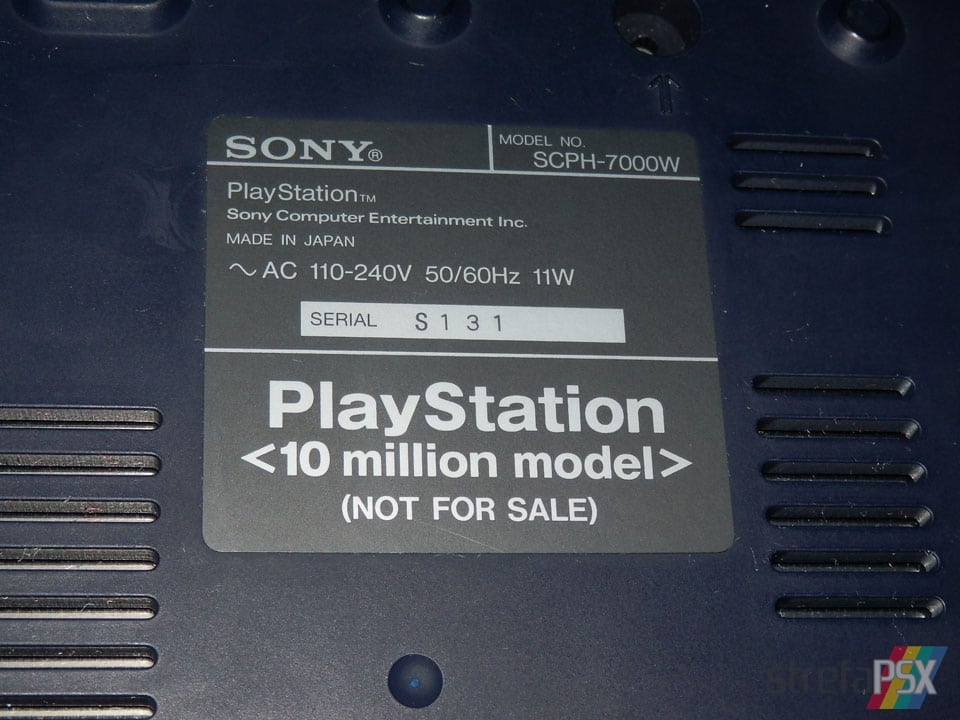 playstation 10 million model scph 7000W 212 - [SCPH-700x] PlayStation 10 Million Model