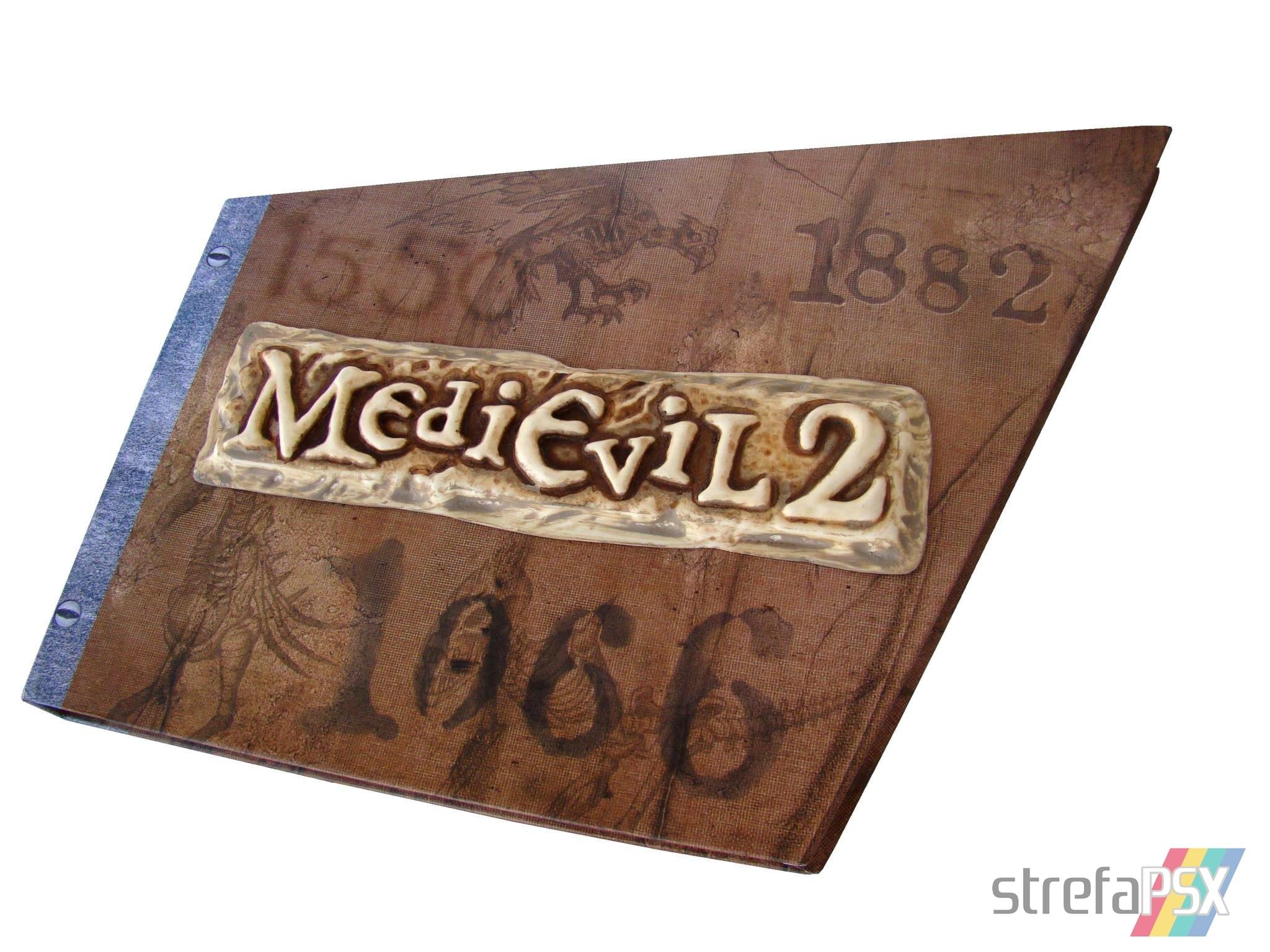 play station hall of fame 79 - Kolekcjonerskie wydania gier - Zestaw prasowy MediEvil 2