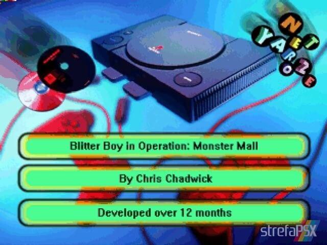 Blitter Boy 2 - Najlepsze gry stworzone za pomocą Net Yaroze