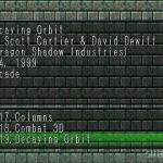 Decaying Orbit 1 150x150 - Najlepsze gry stworzone za pomocą Net Yaroze