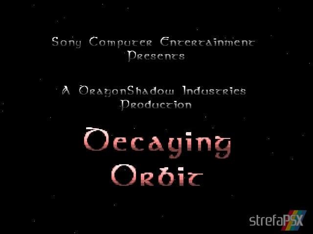 Decaying Orbit 3 - Najlepsze gry stworzone za pomocą Net Yaroze