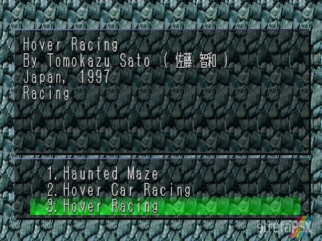 Hoover Racing 1 - Najlepsze gry stworzone za pomocą Net Yaroze