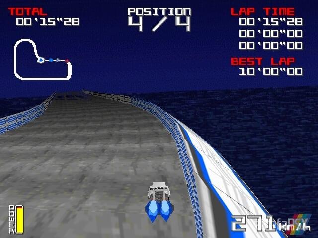 Hoover Racing 3 - Najlepsze gry stworzone za pomocą Net Yaroze