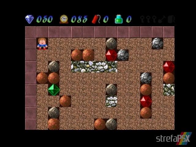 Rocksn Gems 3 - Najlepsze gry stworzone za pomocą Net Yaroze