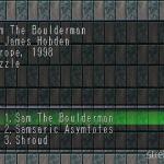 Sam The Boulder Man 1 150x150 - Najlepsze gry stworzone za pomocą Net Yaroze