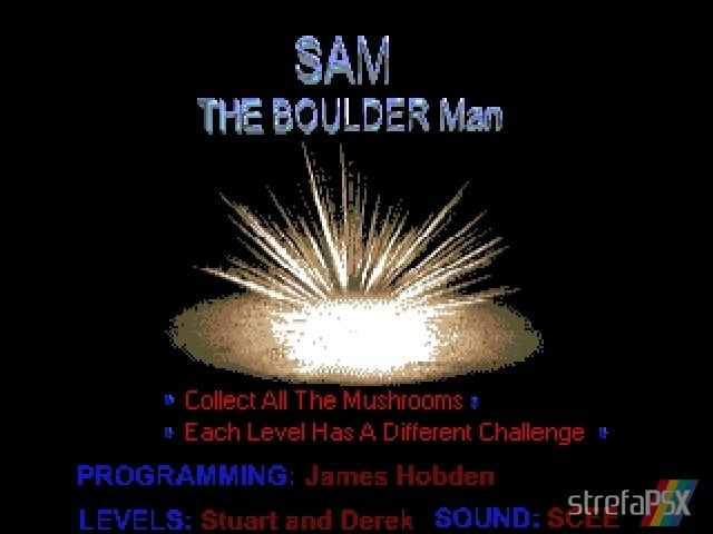 Sam The Boulder Man 2 - Najlepsze gry stworzone za pomocą Net Yaroze