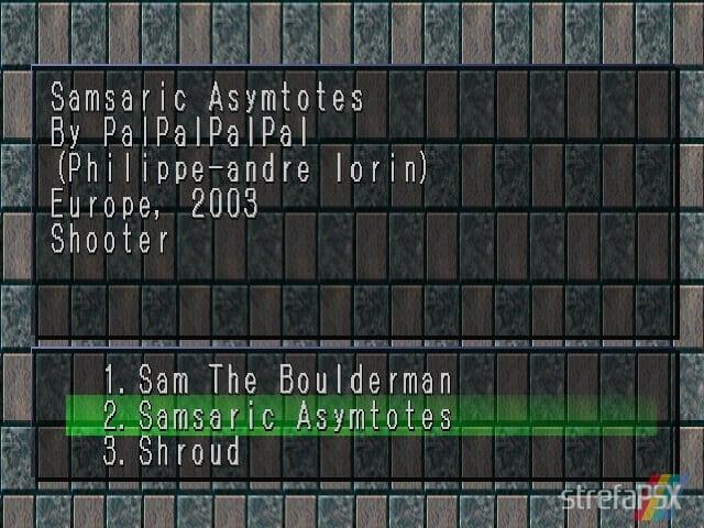 Samsaric Asymtotes 1 - Najlepsze gry stworzone za pomocą Net Yaroze