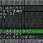 Total Soccer Yaroze 1 150x150 - Najlepsze gry stworzone za pomocą Net Yaroze