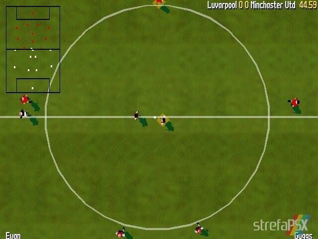 Total Soccer Yaroze 4 - Najlepsze gry stworzone za pomocą Net Yaroze