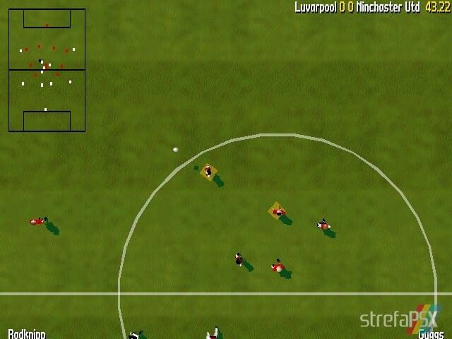 Total Soccer Yaroze 6 - Najlepsze gry stworzone za pomocą Net Yaroze