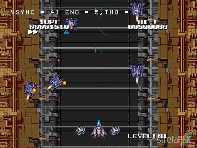 Wanisan Shooting Game 4 - Najlepsze gry stworzone za pomocą Net Yaroze