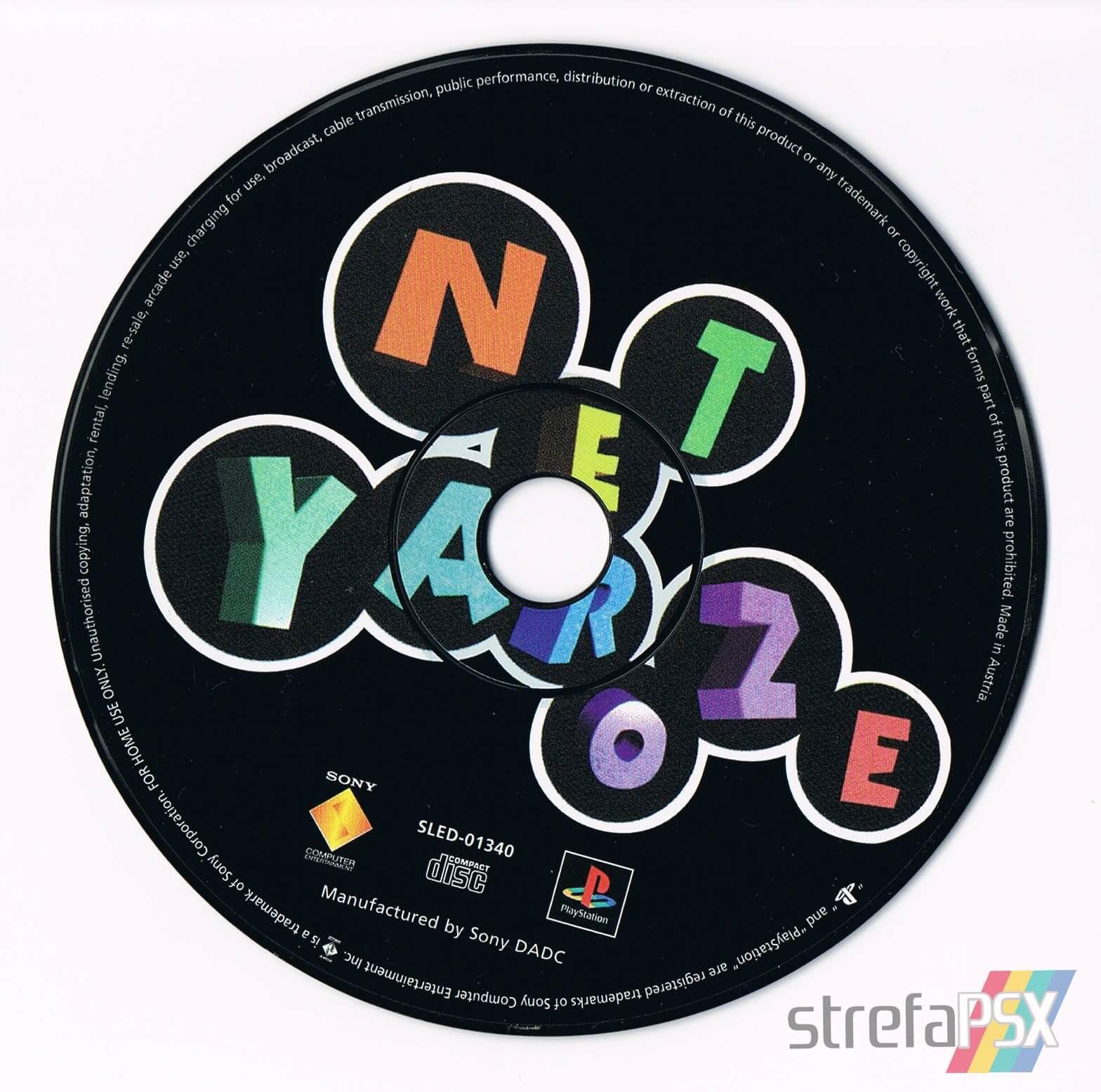 net yaroze members disc - Najlepsze gry stworzone za pomocą Net Yaroze