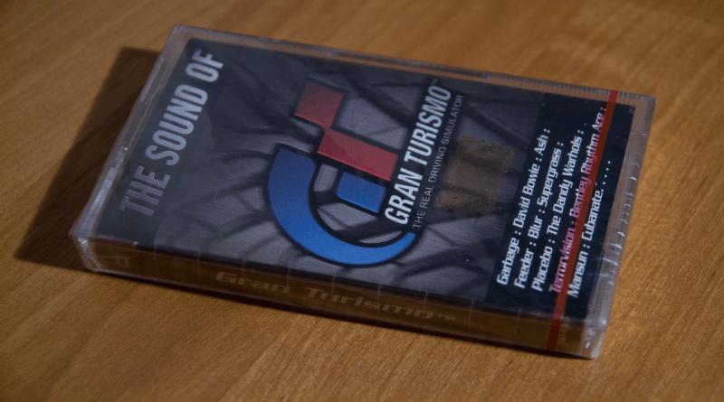 """kaseta gran turismo z polskiej dystrybucji baner - Kaseta """"The sound of Gran Turismo"""" z polskiej dystrybucji"""