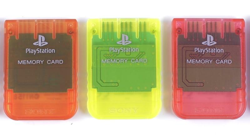 kolorowe karty pamieci baner - Różne wersje kolorystyczne kart pamięci