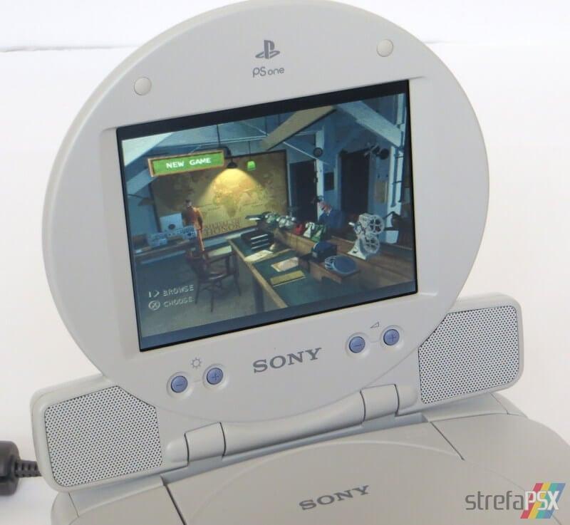 scph 152 psone lcd screen34 - PS one jako odtwarzacz DVD firmy i-Joy