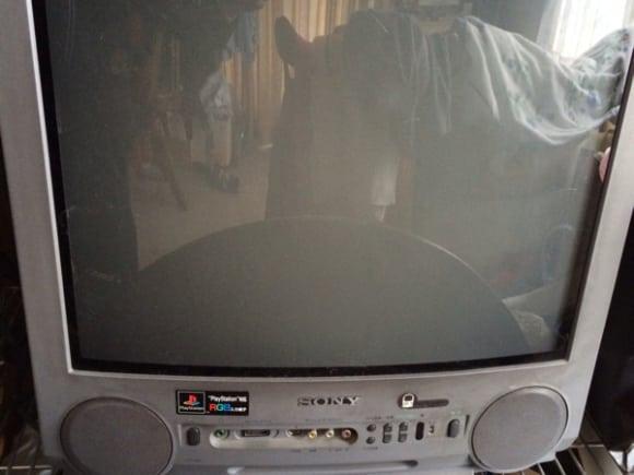 telewizor Sony Trinitron KV 21SP1 - Telewizor stworzony z myślą o PlayStation - Sony KV-21SP1