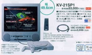 telewizor Sony Trinitron KV 21SP1 5 - Telewizor stworzony z myślą o PlayStation - Sony KV-21SP1