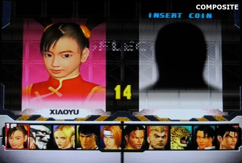 tekken 3 composite 4 - Jakość obrazu - Composite vs S-Video vs SCART RGB